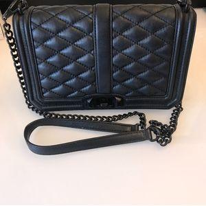 Rebecca Minkoff Leather Quilt Chain Crossbody